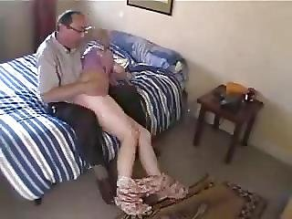 Dan And Friend Spank Young Girl