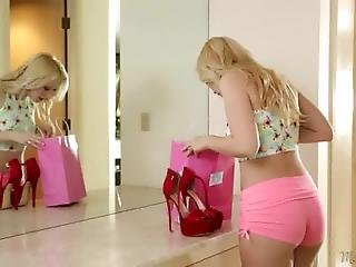 Mom Cherie Deville And Samantha Rone Licking Each Other
