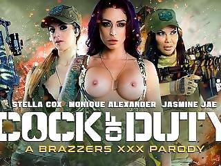 Brazzers - Cock Of Duty (a Xxx Parody