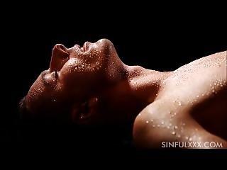 Sinfulxxx.com Couple Closeup Wet Sex