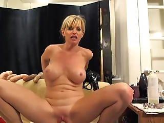 Blonde Milf Swallow