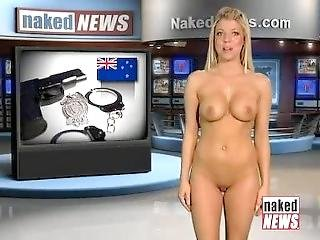 Naked News - Ariella Banks