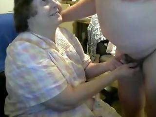 Grandma Suck Grandpa