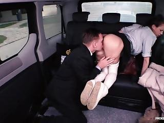 Fucked In Traffic - School Girl Sindi Shine Fucked By Driver In Traffic Sex