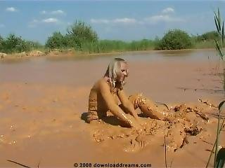 Rubber Boots In Mud