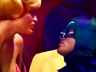 Batmans Lsd Trip. Femme Fetale Takes Advantage Of His Bat Cock.