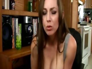 Drunk Mommy Milf Kristi Seduces Son To Fuck Mommys Wet Pussy