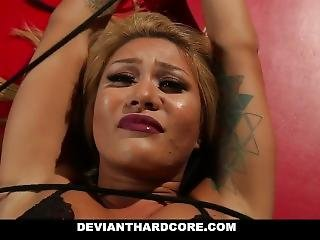 Devianthardcore - Submissive Asian Teen Gets Tied And Tortured