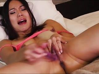 Asian Model Squirts Like A Fountain