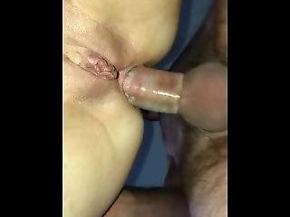 First Anal With Fine Tight Asshole
