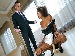 Teamskeet Dicking Down The Hot Latina Help