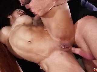 anal, arsch, fetter arsch, blasen, butthole, latina, milf, bestraft, ruppig, sex, schlampe, tätowierung, eng