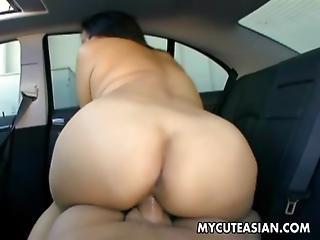 Asian, Ass, Ass Fuck, Boob, Brunette, Busty, Car, Cute, Fucking, Hardcore, Japanese, Moaning, Naughty, Oriental, Reality, Wet