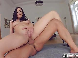 Allinternal Hottie Licks A Dick Clean After Creampie Play