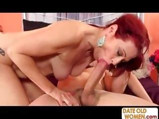 Redhead Doable Cougar Likes It Rough