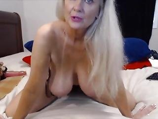 Awesome Granny With Great Big Boobs And Ass Fucking