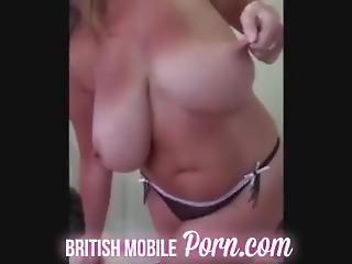 Gran With Huge Beautiful Tits - Blonde British Milf With Massive Tits