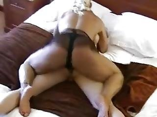 Muscular Mistress Pegging Her Slave