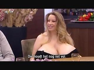 bonasse, gros téton, blonde, fétiche, interview, star du porno, réalité