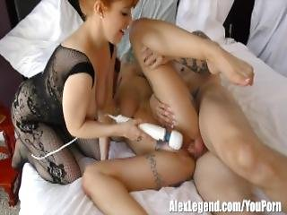 Hootest Threesome With Busty Beauties Anna Bell Peaks Penny Pax