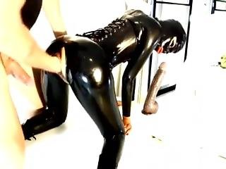 fetish, latex, strap-on, leker