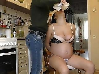 Pregnant Milk Chugging
