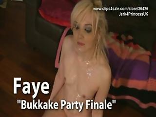 Faye - Virtual Bukkake Joi
