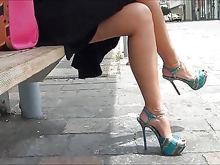 Amateur, Babe, Feet, Fetish, Foot, Heels, Sexy, Voyeur