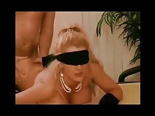 ögonbindel, Avsugning, Bondage, Tysk, Latex, Vintage