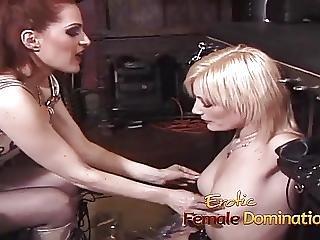 блондинка, рабство, Femdom, латекс, любовница, соски, сексуальный