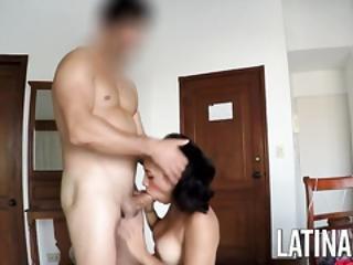 Cute Colombian Girlfriend Karina Home Video