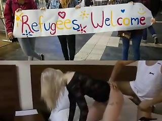 Muslim Refugees Welcome To Europe